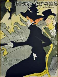 Jane Avril, 1895. Henri de Toulouse-Lautrec (1864-1901). Color lithograph. Herakleidon Museum, Athens, Greece