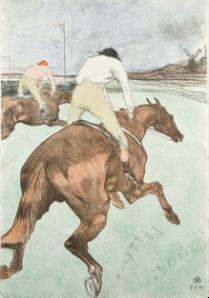 Les Vieilles Histoires, 1893. Henri de Toulouse-Lautrec(1864-1901). Color lithograph. Herakleidon Museum, Athens, Greece.