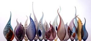 Lino Tagliapietra (b. 1934). Concerto di Primavera, 2000. Glass installation.