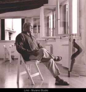 Tagliapietra in his Murano studio