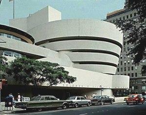 Lloyd Wright's Guggenheim Museum, 1955-59. New York, NY