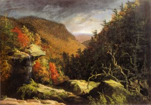 The Clove, Catskills, 1826.  Thomas Cole (1801-1848).  Oil on canvas, 25 ¼ x 35 1/8 in.  Charles F. Smith Fund, 1945.22.