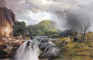 Thomas Moran (1837-1926), The Wilds of Lake Superior, 1864,  Oil on canvas, 30 1/8 x 44 1/8 in.  Charles F. Smith Fund, 1944.4.